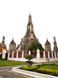 Pagoda in the Wat Arun , Bangkok Thailand Royalty Free Stock Photo