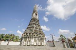 Pagoda in the Wat Arun, Bangkok, Thailand. Stock Photography