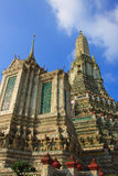 Pagoda of wat arun temple Royalty Free Stock Photography