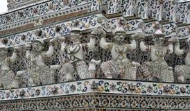 Pagoda at Wat Arun temple of the dawn Stock Images