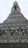 Pagoda at Wat Arun temple of the dawn Royalty Free Stock Photos