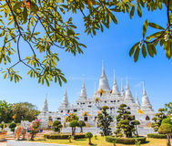 Pagoda at Wat Asokaram, Thailand Royalty Free Stock Photography