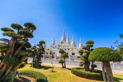 Pagoda at Wat Asokaram, Thailand Royalty Free Stock Photos