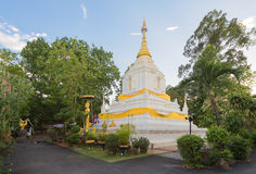 Pagoda in Wat Cang Kump, Wiang Kum Kam, Chiangmai Fotografia Stock