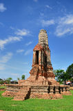 Pagoda at Wat Chaiwattanaram Tem Royalty Free Stock Photos