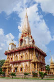 Pagoda in wat chalong phuket Royalty Free Stock Photo