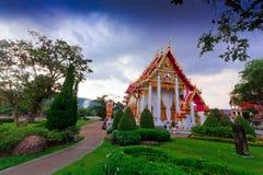 Pagoda  in wat chalong phuket, THAILAND Stock Photography