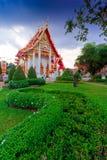 Pagoda in wat chalong phuket, THAILAND Stock Photo
