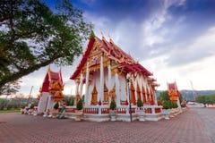Pagoda in wat chalong phuket, THAILAND Stock Image