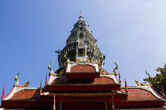 Pagoda in Wat Kru Toa , Chiangmai Thailand Stock Photos