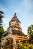 Pagoda of Wat Lok Moli Stock Image