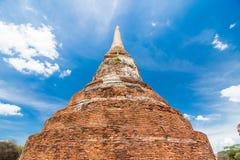 Pagoda at Wat Mahatat in Ayuttaya. Thailand Royalty Free Stock Image