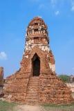 Pagoda in Wat mahathat Stock Photography