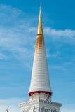 Pagoda in Wat Mahathat, Nakhon Si Thammarat province Thailand Royalty Free Stock Images