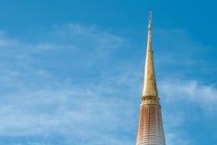 Pagoda in Wat Mahathat, Nakhon Si Thammarat province Thailand Royalty Free Stock Photo