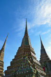 Pagoda in Wat Pho Royalty Free Stock Image
