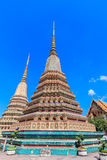 Pagoda at Wat Pho Stock Photography