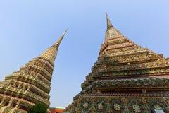 Pagoda at Wat Pho Royalty Free Stock Photography