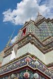 Pagoda a Wat Pho, Bangkok, Tailandia fotografia stock