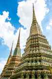 Pagoda at wat pho Stock Photos
