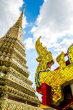 Pagoda at wat pho Royalty Free Stock Images
