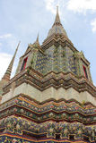 Pagoda at Wat Pho in Bangkok, Thailand Stock Photos