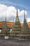 Pagoda is in Wat Pho Bangkok Thailand Stock Photo