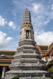 Pagoda is in Wat Pho Bangkok Thailand Royalty Free Stock Photography