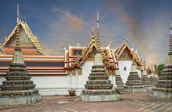 Pagoda, Wat Pho stock photo