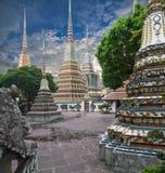 Pagoda, Wat Pho stock photos