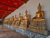 Pagoda, Wat Pho Royalty Free Stock Photos