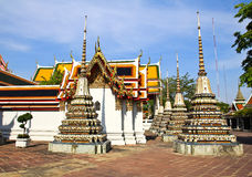Pagoda in Wat Pho Temple Stock Image