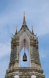 Pagoda of Wat Pho temple in Bangkok, Thailand. Royalty Free Stock Image