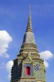 Pagoda in wat pho temple Royalty Free Stock Images