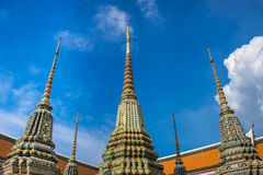 Pagoda in Wat Pho, Thailand Royalty Free Stock Images