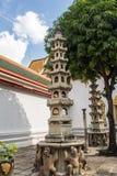 Pagoda is in Wat Pho Bangkok Thailand Royalty Free Stock Photos