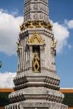 Pagoda is in Wat Pho Bangkok Thailand Stock Image