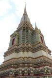 Pagoda at Wat Pho in Bangkok, Thailand Stock Photos