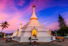 Pagoda at Wat Phra That Doi Kong Mu, Thailand Royalty Free Stock Image