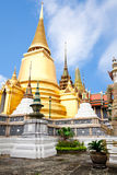 The pagoda in wat phra kaew Stock Image