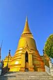 Pagoda at Wat Phra Kaew. Pagoda at Wat Phra Si Rattana Satsadaram (Wat Phra Kaew) in Bangkok, Thailand Stock Photography