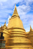 Pagoda in Wat Phra Kaew Stock Photography