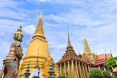 Pagoda in Wat Phra Kaew Stock Images