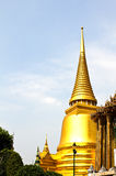 The pagoda of Wat Phra Kaew ,Thailand. Royalty Free Stock Photography