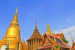 The pagoda of Wat Phra Kaew thailand. The pagoda of Wat Phra Kaew ththailand Stock Photos