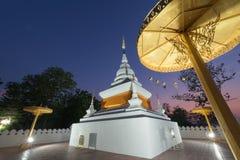 Pagoda at  Wat Phra That Kao Noi, Nan Stock Photo