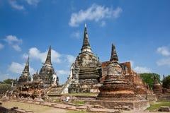 Pagoda a Wat Phra Sri Sanphet Fotografia Stock Libera da Diritti