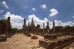 Pagoda at Wat Phra Sri Sanphet Stock Photography