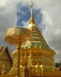 Pagoda. Wat Phrathat Doi Suthep in Chiangmai : Thailand Royalty Free Stock Photos