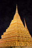 Pagoda at Wat Po temple Stock Photography
